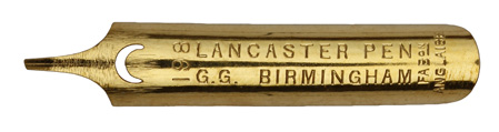 No. 198, G.G., Lancaster Pen, Gaffre First Classe Pen