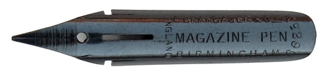 C. Brandauer & Co, No. 299, Magazine Pen