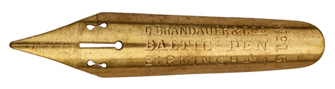 C. Brandauer & Co, No. 163, Baltic Pen