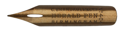 C. Brandauer & Co, No. 404, Herald Pen
