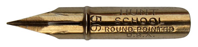 C. Howard Pen Co, school round pointed, no. 56