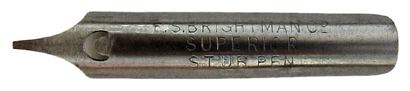F. S. Brightman, Superior Stub Pen