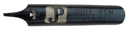 Perry & Co, No. 230, Quill Pen, JP