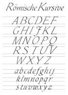 Kalligraphie Alphabete
